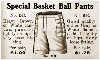 Special basket ball pants