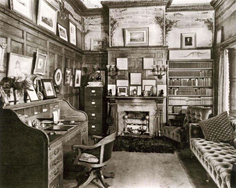 Andrew Carnegie's study