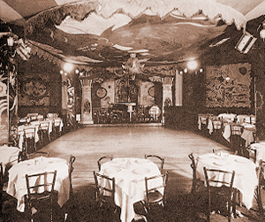 Connie's Inn, interior