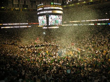 NBA Finals Trophy Ceremony