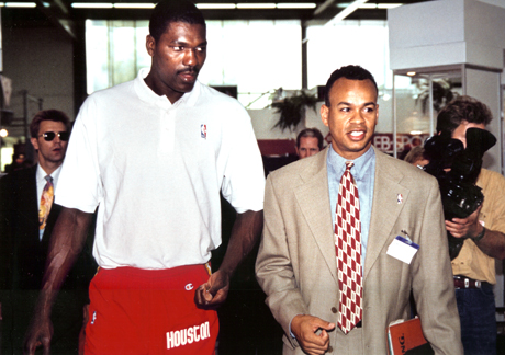 my day in munich in 39 95 with olajuwon oh and ewing the black fives foundation. Black Bedroom Furniture Sets. Home Design Ideas