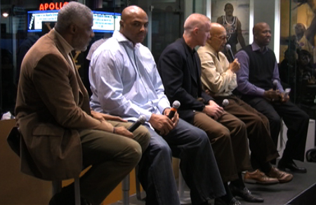 Panel discussion at House of Hoops