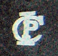 A closeup of the IPC logo