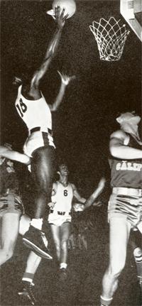 Jackie Robinson, basketball player