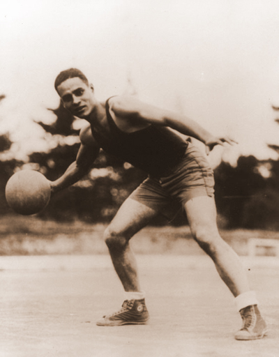 Ralph Bunche, basketball star