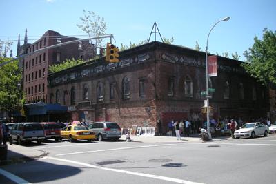 The Renaissance Ballroom in Harlem on a Sunday morning