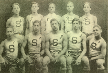 The Smart Set Athletic Club basketball team of Brooklyn