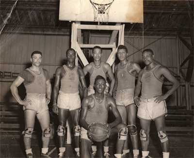 Another unknown U.S. military basketball team