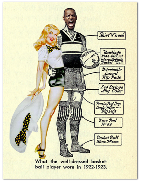 The Well-Dressed Basketball Player With Model