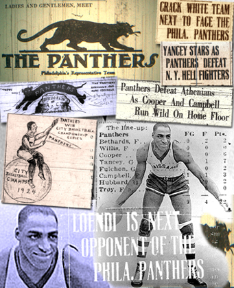Philadelphia Panthers photo collage