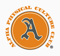 The official logo of the Alpha Physical Culture Club of Harlem