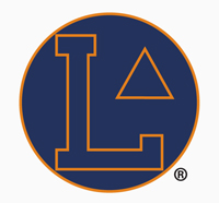 The official logo of the Lincoln University's first varsity basketball team