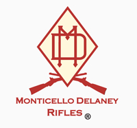 The official logo of the Monticello Delaney Rifles