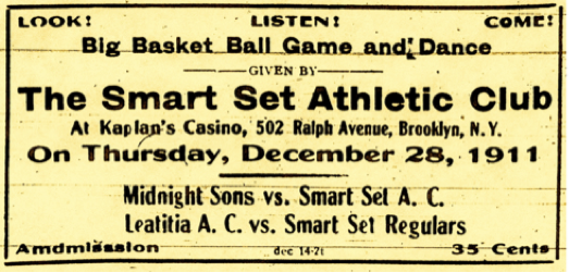 Smart Set Athletic Club ad