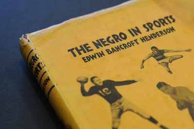 First Edition Hardcover Copy, 'The Negro In Sports' (1939)