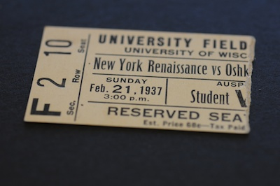Ticket Stub (1937)