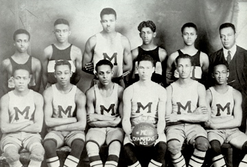 Morehouse varsity basketball, 1920