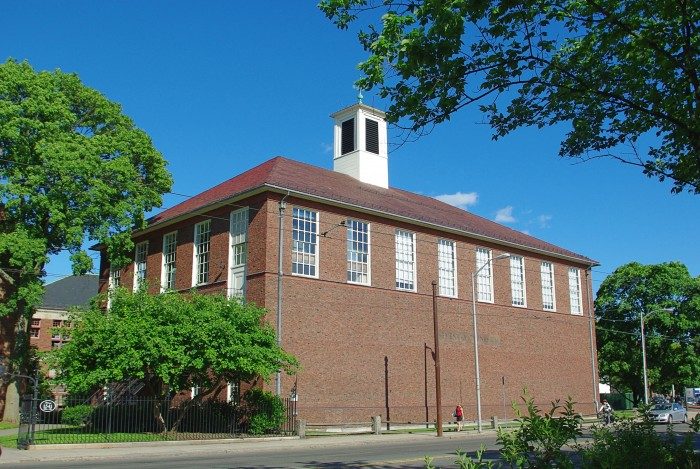 Hemenway Gymnasium today (Harvard University)