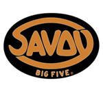 The official logo of the Savoy Big Five of Chicago