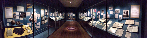 Black Fives Exhibition panoramic view