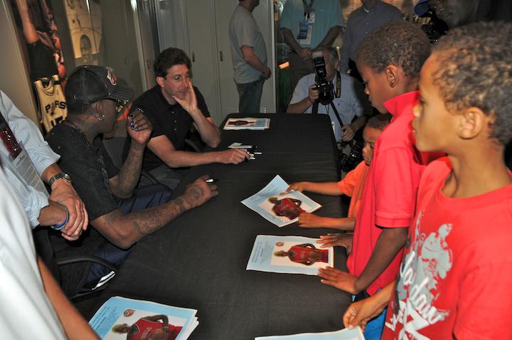 Dennis Rodman Autograph Session