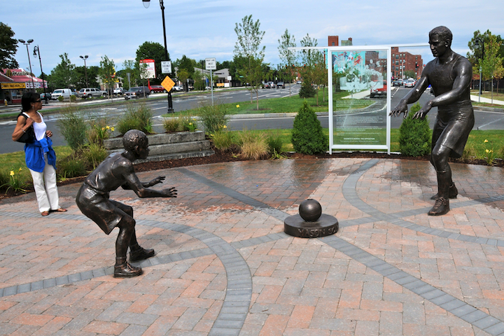 Mason Square Basketball Memorial