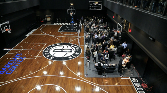Brooklyn Nets practice court