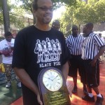Honored At Rucker Park For My Work With Black Fives