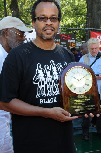 Claude Johnson at Rucker Park