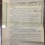 Jim Usry's 1946 New York Rens Professional Basketball Player Contract