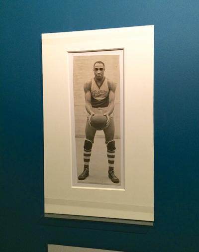 New York Rens player Charles 'Tarzan' Cooper, ca. 1939