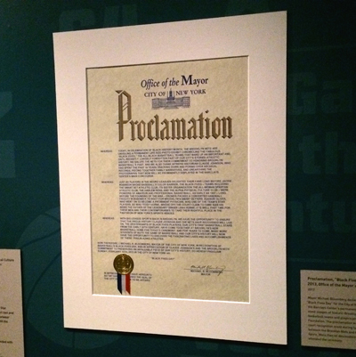 "Proclamation, ""Black Fives Day,"" February 10, 2013"