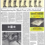 The New York Times: Remembering the 'Black Fives' of Pro Basketball