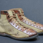 A Vintage Pair of 1910s Basketball Shoes
