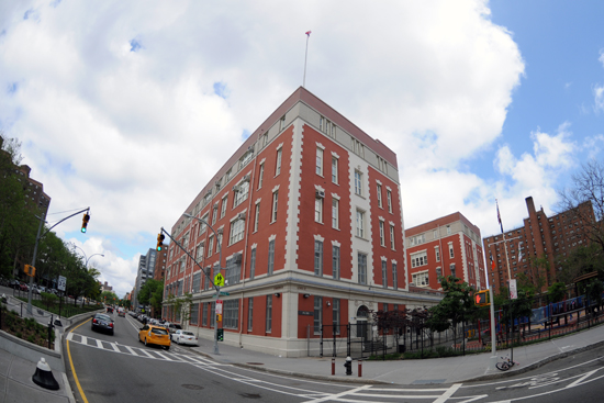 A view of P.S. 188 from Houston Street