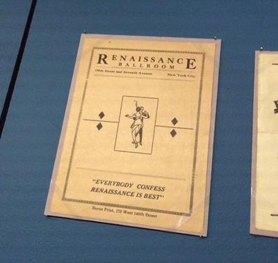 Renaissance Ballroom dance leaflet