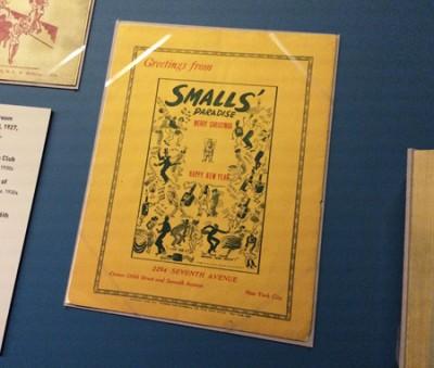 Small's Paradise ad