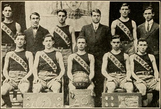 1911-12 E.R.C. 188 Basketball Team