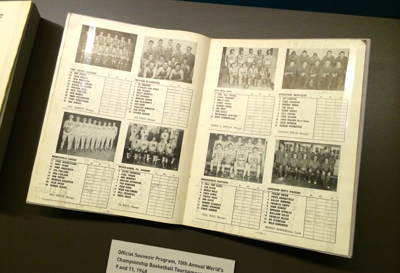 Official Souvenir Program, 10th Annual World's Championship Basketball Tournament, 1948