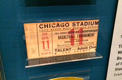 Ticket stub, 1948