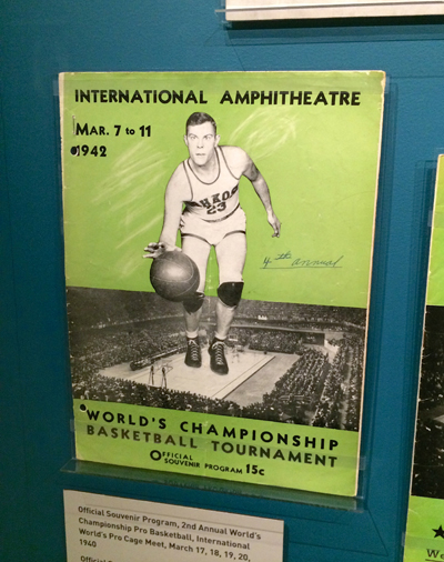 Official Souvenir Program, 4th Annual World's Championship Basketball Tournament, March 7 to 11, 1942 | 1942