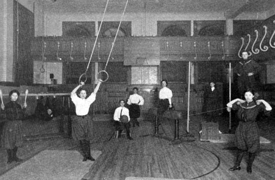 University Settlement Gymnasium, 1905