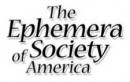 Black Fives at the Ephemera Society of America's 35th Annual Conference