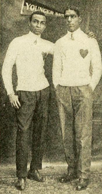 Team promoters Harding and Wilson.