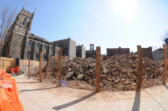 "The historically and culturally priceless Renaissance Ballroom, once called ""The Aristocrat of Harlem,"" is reduced to a lowly pile of rubble adjacent to Abyssinian Baptist Church, which orchestrated its shameful destruction with a calculated years-long master plan that was aided by trusted politicians and disingenuous developers."