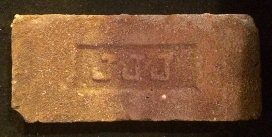 A brick from the Renaissance Ballroom in Harlem