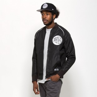 Black Fives satin jacket