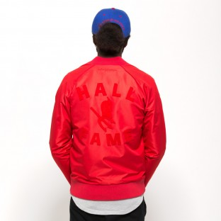 LA Red Devils satin jacket