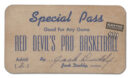 Artifact of the Week (7): A Special Pass
