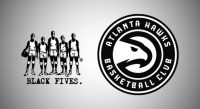 ATL Hawks Black Fives Collaboration